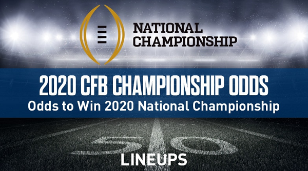 College Football Championship odds