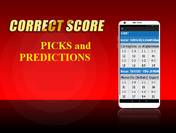 Correct Score Prediction