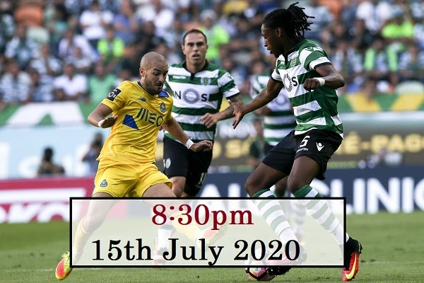 Porto Vs Sporting Prediction 15 07 2020 Portugal Primeira Liga