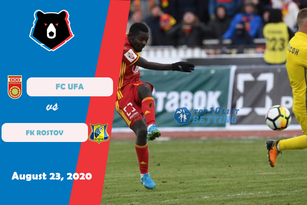 Fc rostov vs fc ufa betting tips back lay meaning betting lines
