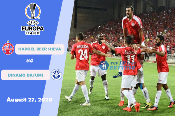 Hapoel Beer Sheva Vs Dinamo Batumi Prediction C2 Cup 08 27