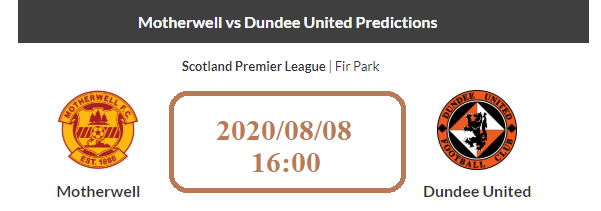 Motherwell vs Dundee United Prediction
