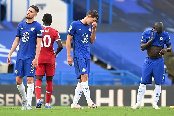 Chelsea lost to Liverpool - Sports News Today