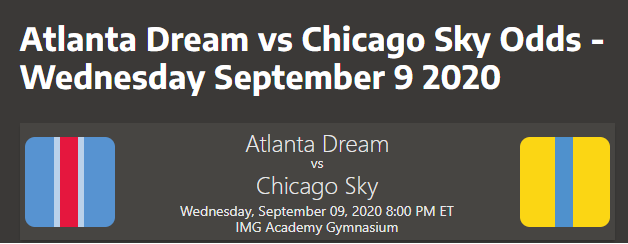 Chicago Sky vs Atlanta Dream Prediction