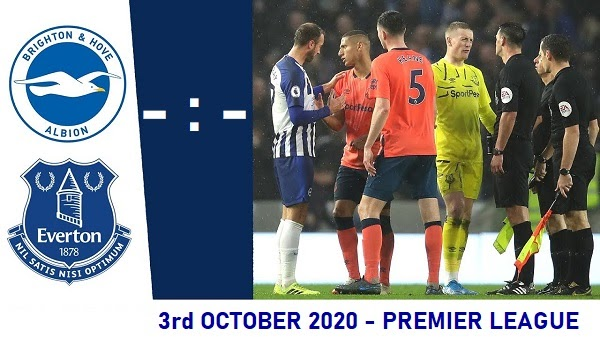 Everton Vs Brighton Prediction 2020 10 03 Premier League