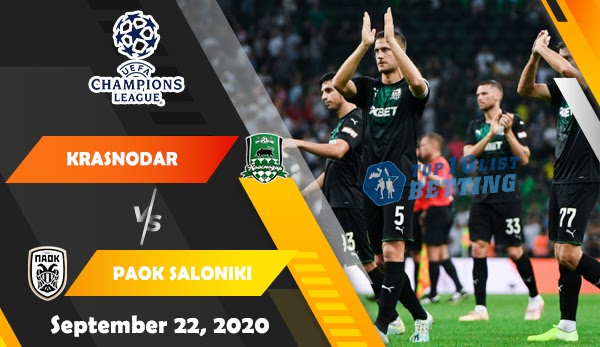 Krasnodar Vs Paok Saloniki Prediction C1 Cup 09 22
