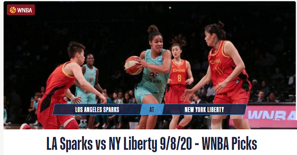 LA Sparks vs NY Liberty Prediction