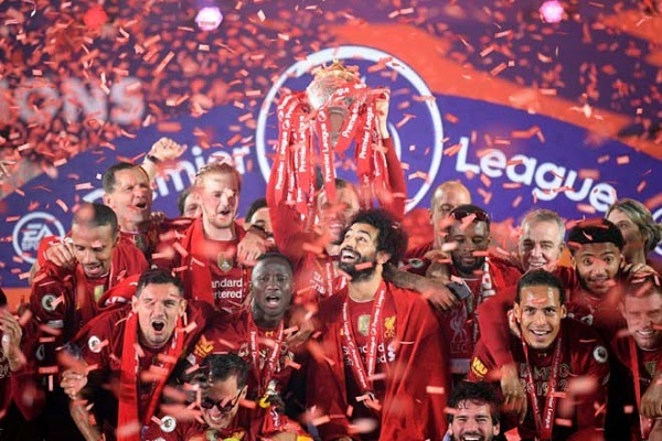 Liverpool won the Premier League 2019/20