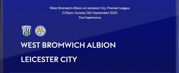 West Brom vs Leicester City Prediction