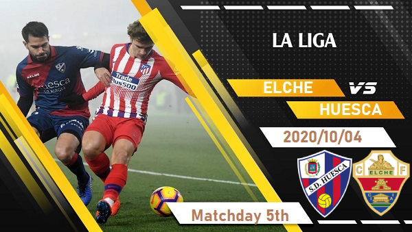 Elche Vs SD Huesca Prediction 2020 10 04 La Liga