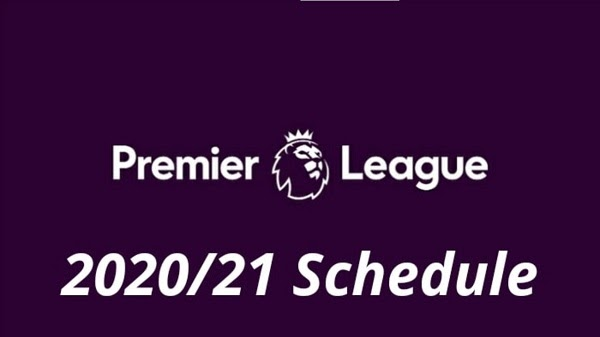 English Premier League 2020/2021 fixtures