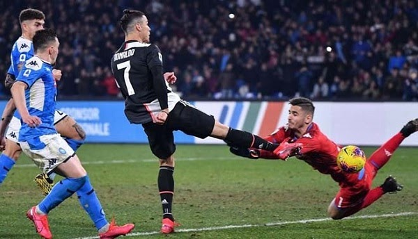 Ronaldo continues to be the trigger that is expected in the Juventus vs Napoli war