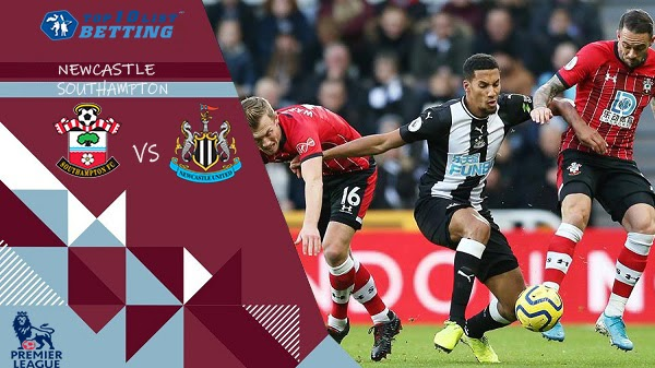 newcastle utd v sourthampton betting