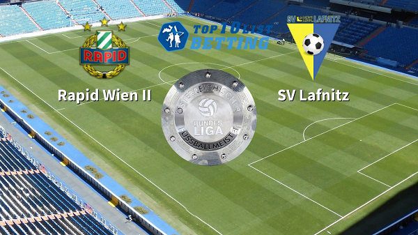 Rapid Wien vs SV Lafnitz Prediction